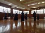 筑陽学園高校稽古