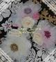 Organza Flower & Rose Corsage(完成品のご希望可)