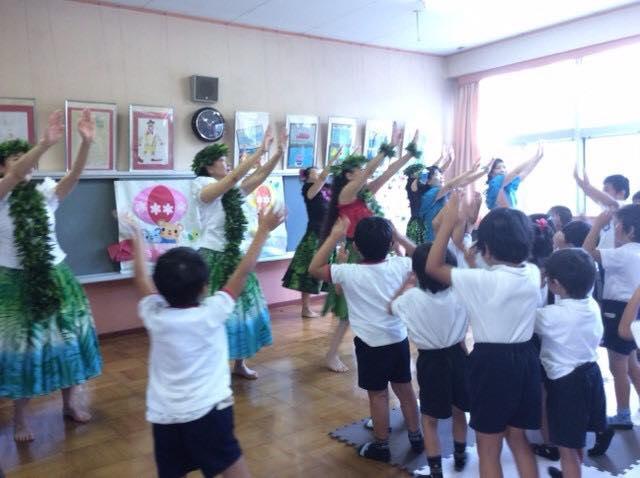 🌴飛鳥幼稚園ぽっぽの会様へ、ボランティア画像