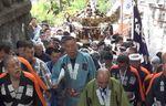 四谷須賀神社 十八ヶ町連合神輿 宮入風景