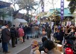 初詣 四谷地区の神社