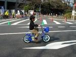神宮外苑 自転車乗り方教室