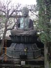 阿弥陀如来様と梵鐘 西迎寺
