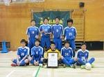 2014 東京都ユースフットサル大会優勝