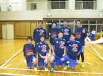 2014親子フットサル大会 優勝チーム