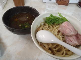 あっさり醤油つけ麺 750円 ☆☆画像